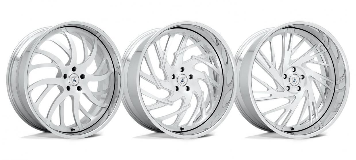 Introducing the AF862, AF864, & AF868 from Asanti Wheels