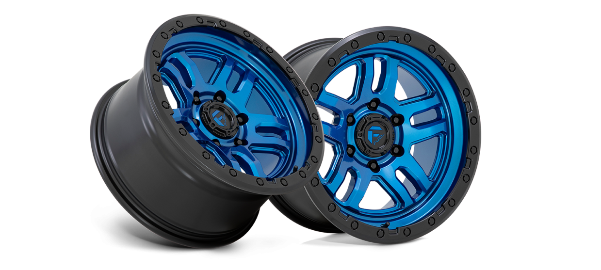 The Fuel Off-Road Ammo Now Available in Blue with Black Lip Finish