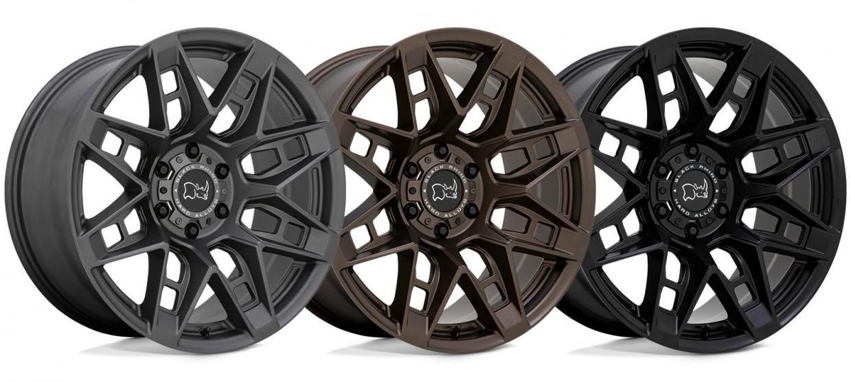 The All New Caprock from Black Rhino Wheels