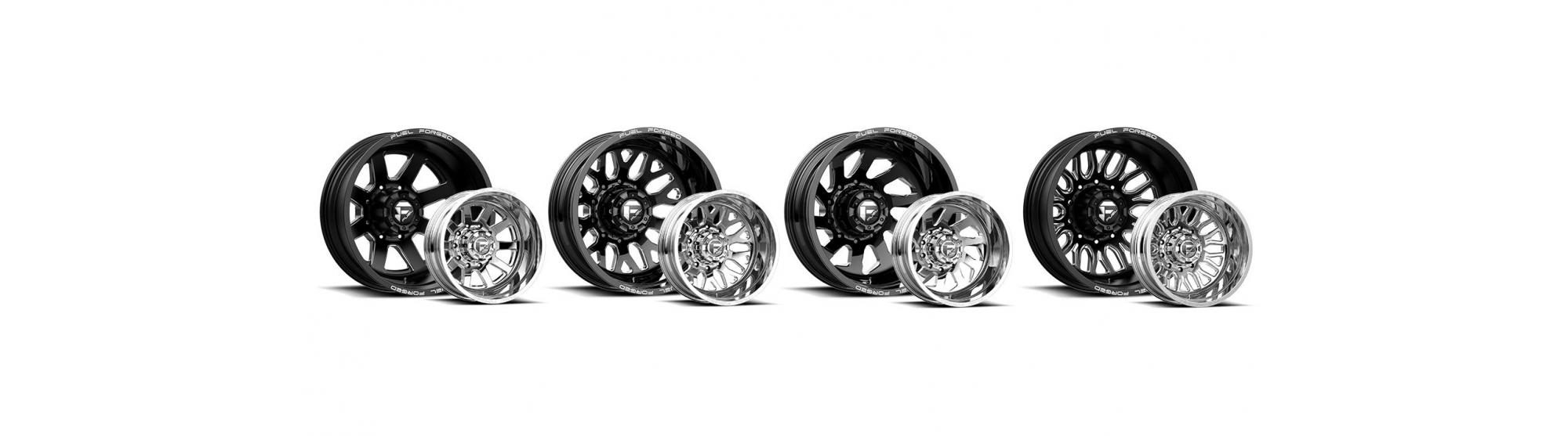 Select Fuel Forged Dually Wheels Now In Stock