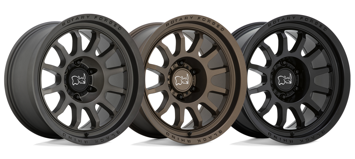 Introducing the All New Rapid from Black Rhino Wheels