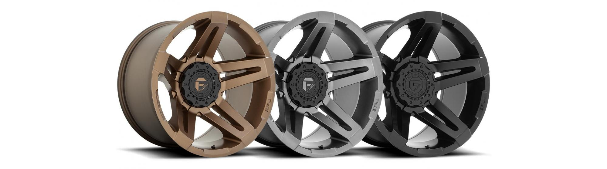 THE NEW SFJ FROM FUEL OFF-ROAD WHEELS