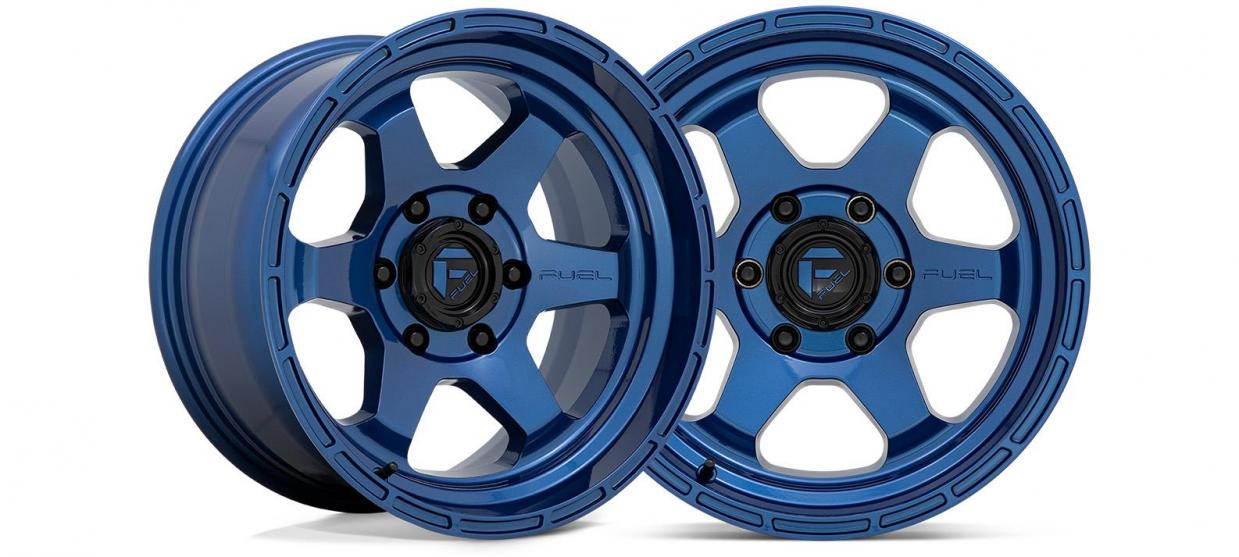 The Fuel Off-Road Shok Now Available in Dark Blue