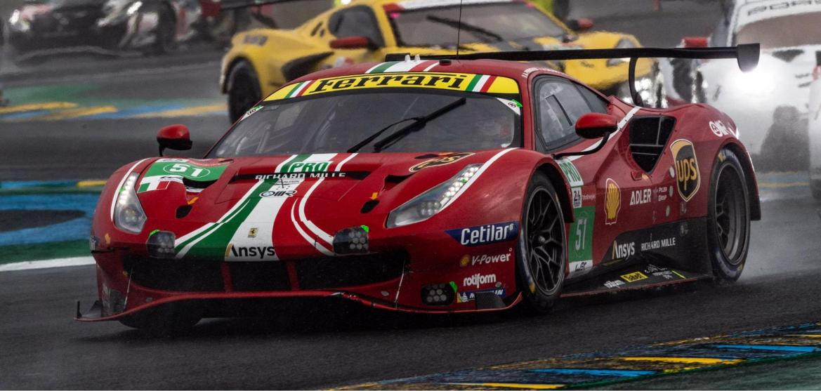 Rotiform with Ferrari and AF Corse win at the 24 Hours of Le Mans